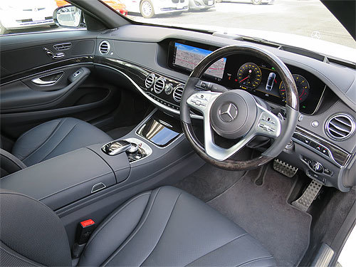 ベンツ S450 AMGラインプラス画像5